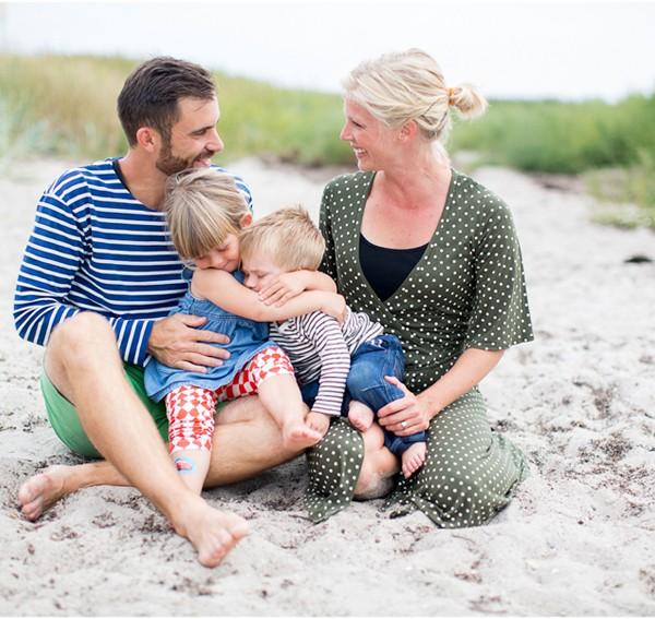 familjefotografering - elsa & olle